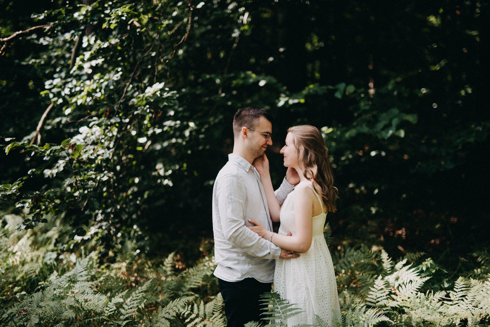 Miriam i Dominik || plener w lesie